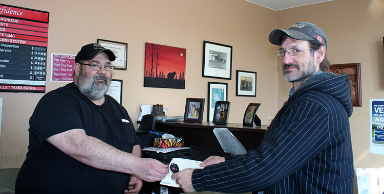 Mike Webb's Auto Works - Happy Customer - Windsor NS